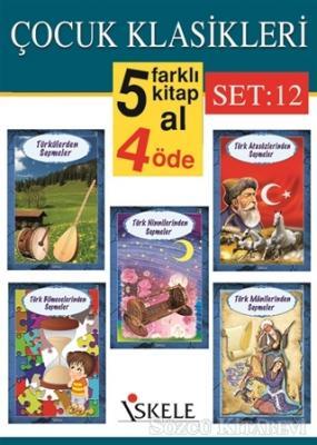 Çocuk Klasikleri (5 Kitap Takım) Set:12
