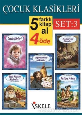 Çocuk Klasikleri Set:3 (5 Kitap Takım)