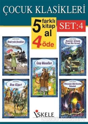 Çocuk Klasikleri Set:4 (5 Kitap Takım)