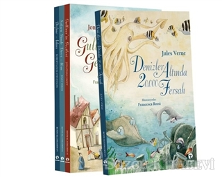 Kolektif - Çocuk Klasikleri Seti-Büyük Boy-4 Kitap Takım | Sözcü Kitabevi