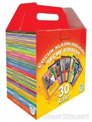 Kolektif - Çocuk Klasiklerinden Seçme Eserler (30 Kitap Takım)   Sözcü Kitabevi