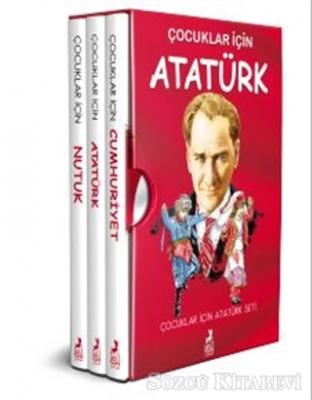 Kolektif - Çocuklar İçin Atatürk Seti (3 Kitap Takım) | Sözcü Kitabevi