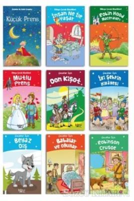 Çocuklar İçin Edebiyat Seti (9 Kitap Takım)