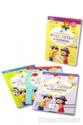 Kolektif - Çocuklar İçin İlk Kodlama ve Algoritma Aktiviteleri - 4 Kitap Set | Sözcü Kitabevi