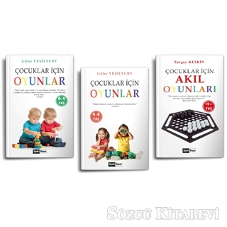 Çocuklar İçin Oyunlar (3 Kitap Takım)