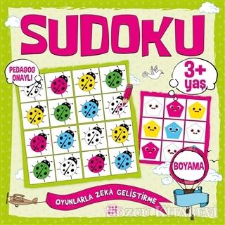 Çocuklar İçin Sudoku Boyama (3+ Yaş)