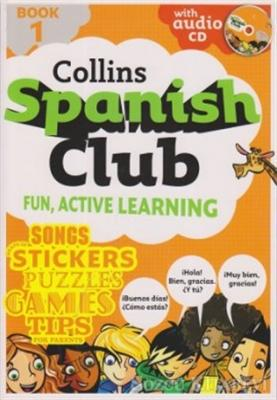 Collins Spanish Club Fun, Active Learning Book 1
