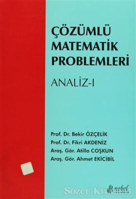 Çözümlü Matematik Problemleri - Analiz 1