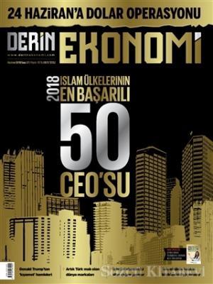 Derin Ekonomi Aylık Ekonomi Dergisi Sayı: 37 Haziran 2018