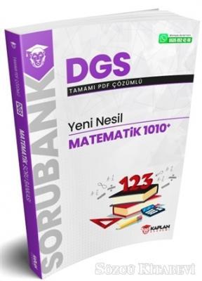 DGS Yeni Nesil Matematik 1010+ Tamamı PDF Çözümlü Soru Bankası