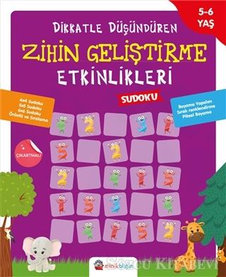 Kolektif - Dikkatle Düşündüren Zihin Geliştirme Etkinlikleri 3 - Sudoku | Sözcü Kitabevi