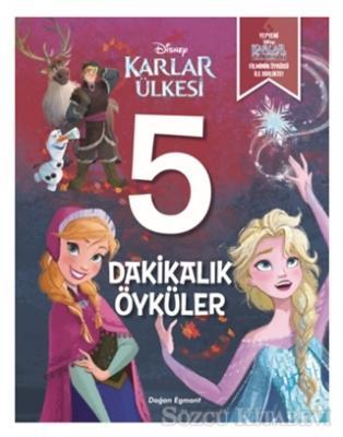 Kolektif - Disney Karlar Ülkesi - 5 Dakikalık Öyküler   Sözcü Kitabevi