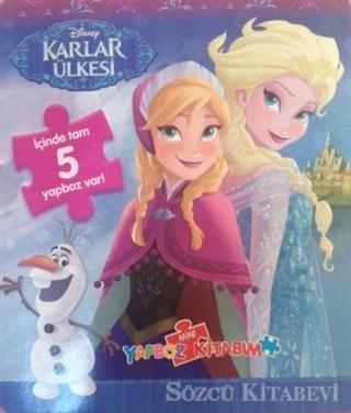 Disney Karlar Ülkesi - Mini Yapboz Kitabım