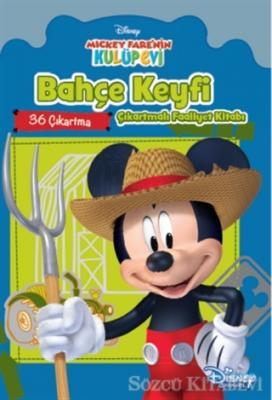 Disney Mickey Bahçe Keyfi Çıkartmalı Faaliyet