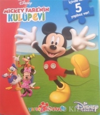Disney Mickey Fare'nin Kulüp Evi - Mini Yapboz Kitabım