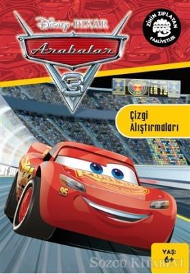 Kolektif - Disney Pixar Arabalar 3 - Zihin Zıplatan Faaliyetler | Sözcü Kitabevi