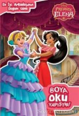 Kolektif Disney Prenses Elena Boya Oku Yapistir En Iyi