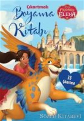 Disney Prenses Elena - Çıkartmalı Boyama Kitabı