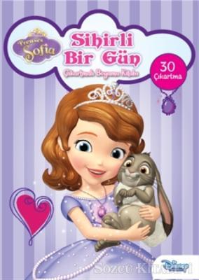 Disney Prenses Sofia Sihirli Bir Gün Çıkartmalı Boyama Kitabı