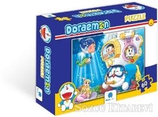 Doraemon 60 Parça Puzzle - 1