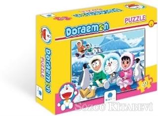 Doraemon 60 Parça Puzzle - 2