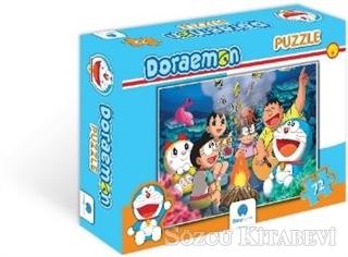 Doraemon 72 Parça Puzzle - 1