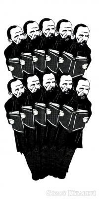 Dostoyevski 3 - 10'lu Lazer Kesim Ayraç