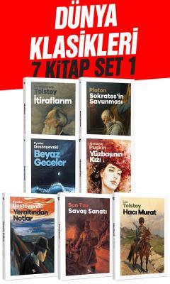 Lev Nikolayeviç Tolstoy - Dünya Klasikleri 7 Kitap Set1 | Sözcü Kitabevi