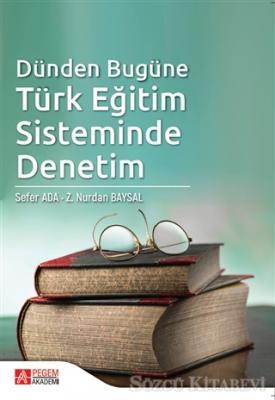 Sefer Ada - Dünden Bugüne Türk Eğitim Sisteminde Denetim | Sözcü Kitabevi