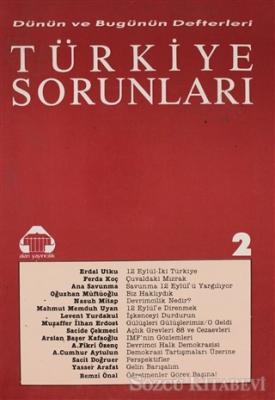 Dünün ve Bugünün Defterleri Türkiye Sorunları 2