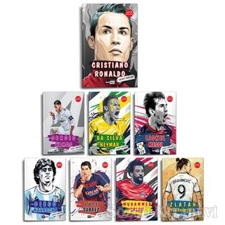 Dünya Futbol Yıldızları Set - (8 Kitap - Poster Hediyeli)