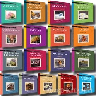 Dünya Klasikleri Seti (17 Kitap Takım)