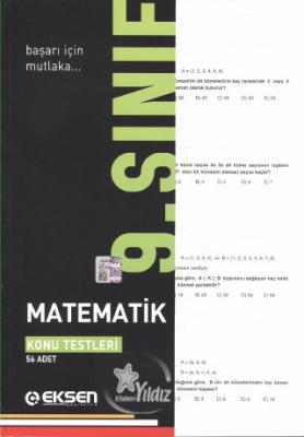 Eksen 9. Sınıf Matematik Konu Testleri