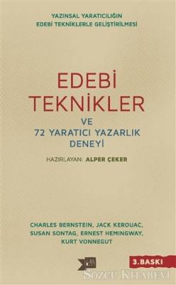 Alper Çeker - Edebi Teknikler ve 72 Yaratıcı Yazarlık Deneyi | Sözcü Kitabevi