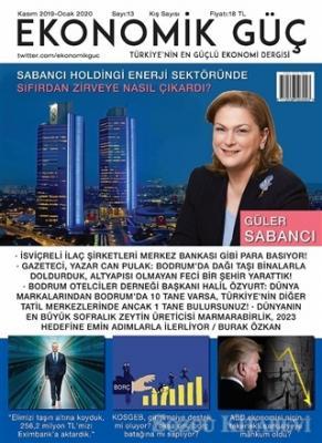 Ekonomik Güç Dergisi Sayı: 13 Kasım 2019 - Ocak 2020