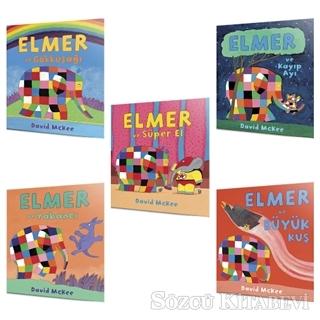 Elmer'ın Yeni Maceralı 5'li Set (2+Yaş)