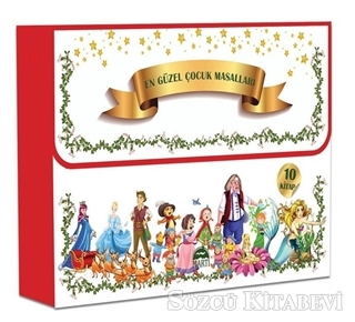 Kolektif - En Güzel Çocuk Masalları Seti (10 Kitap Takım)   Sözcü Kitabevi