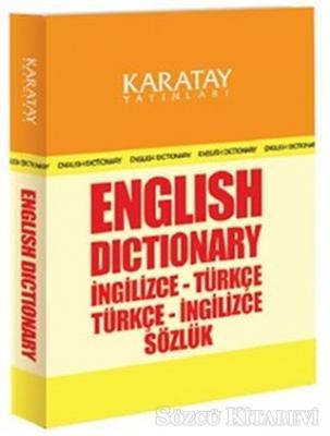 English Dictionary İngilizce-Türkçe / Türkçe-İngilizce Sözlük