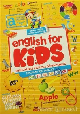 Kolektif - English for Kids - Etkinliklerle İngilizce Öğreniyorum | Sözcü Kitabevi