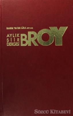 Broy Aylık Şiir Dergisi Kasım 85
