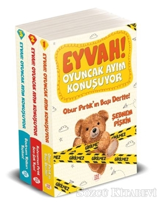 Eyvah! Oyuncak Ayım Konuşuyor Set (3 Kitap Takım)