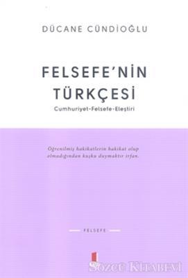 Felsefe'nin Türkçesi