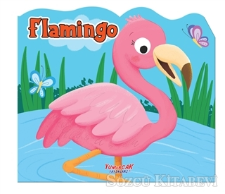 Flamingo - Şekilli Kitap