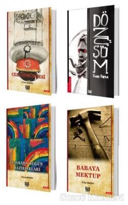Franz Kafka - Franz Kafka Seti (4 Kitap Takım) | Sözcü Kitabevi