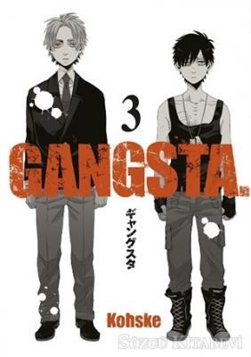 Kohske - Gangsta 3 | Sözcü Kitabevi