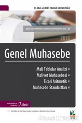 Genel Muhasebe ve Mali Tablolar Analizi 2015