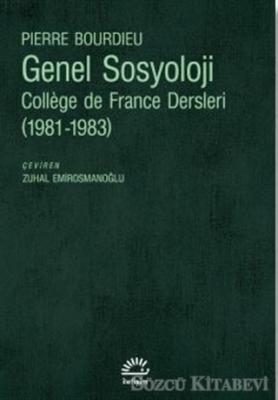 Pierre Bourdieu - Genel Sosyoloji | Sözcü Kitabevi