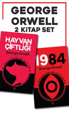 George Orwell - George Orwell 2 Kitap Bir Arada 1984 ve Hayvan Çiftliği | Sözcü Kitabevi
