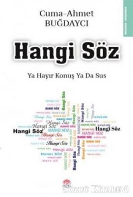 Ahmet Buğdaycı - Hangi Söz   Sözcü Kitabevi