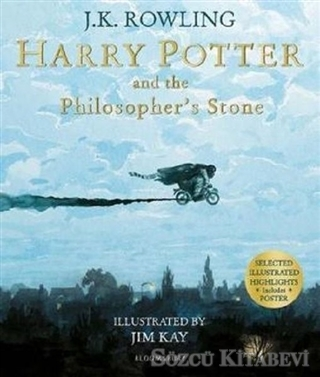 J. K. Rowling - Harry Potter and the Philosopher's Stone: Illustrated Edition | Sözcü Kitabevi